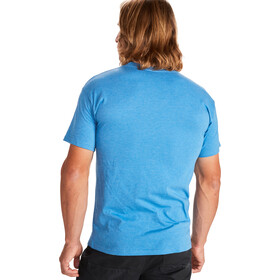 Marmot Trek T-shirt Heren, royal heather
